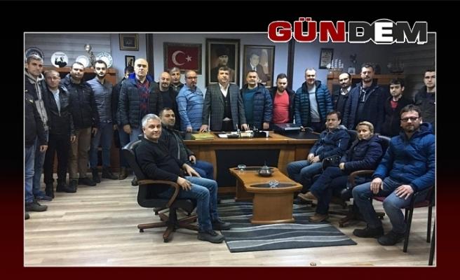 Üyeler, Türk Metal'i ziyaret etti