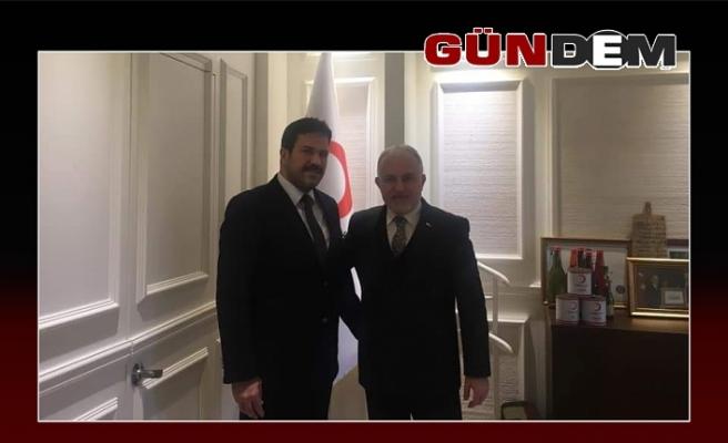 Uzun, Genel Başkanı ziyaret etti