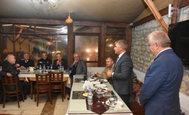 Vali Gürel, Safranbolu Mahalle ve Köy Muhtarlarıyla bir araya geldi