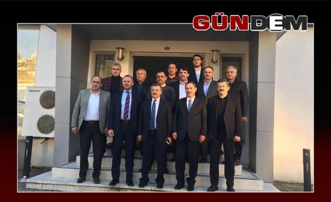 Vekil Türkmen, Başkanları Ereğli'de topladı