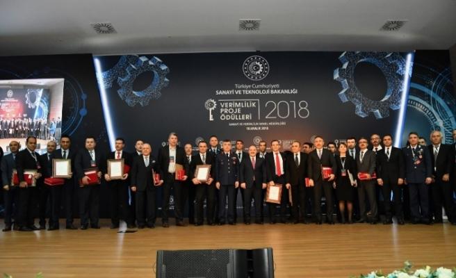 Verimlilik Proje ödüllerinde üçüncülük ödülü KARDEMİR'in