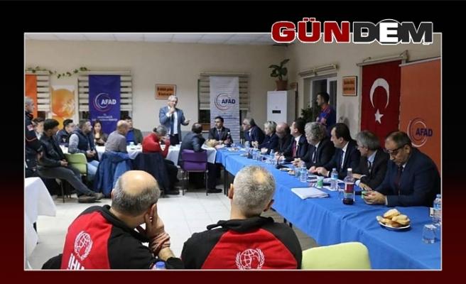 AFAD toplantısına katıldılar