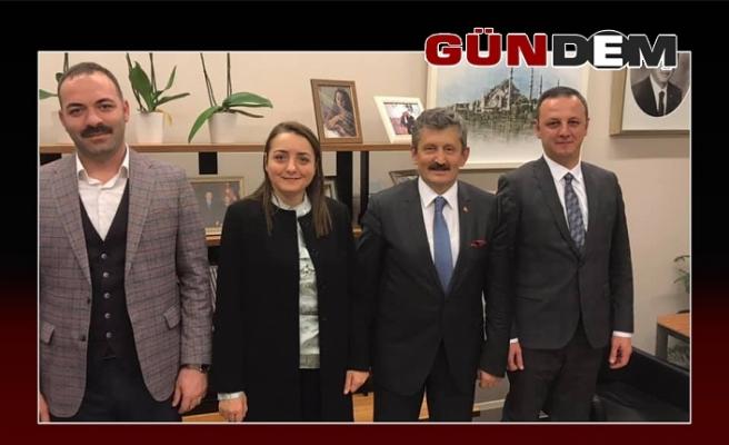 AK heyet Ankara'da
