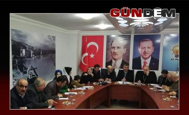 AK Parti Alaplı teşkilatı toplandı