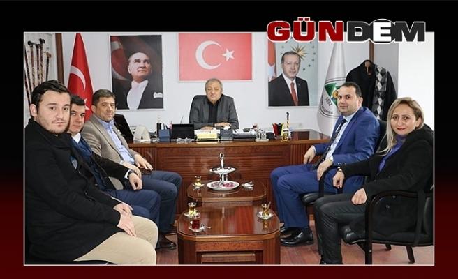 AK Partili adaydan Semerci'ye ziyaret