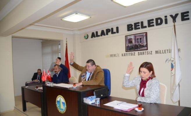Belediye Meclisi yeni yılın ilk toplantısını yaptı