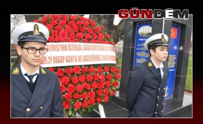 Alemdar Gemisi'nin 98. yıl dönümü kutlandı