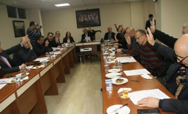 Devrek Belediyesi yılın ilk aylık meclis toplantısını yaptı