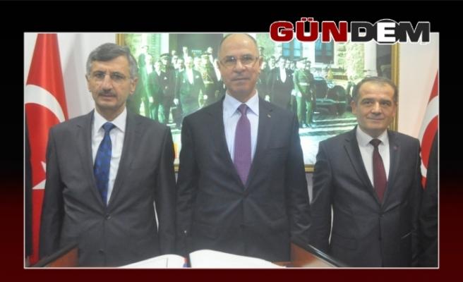 Filistin Ankara Büyükelçisinden Vali Bektaş'a ziyaret