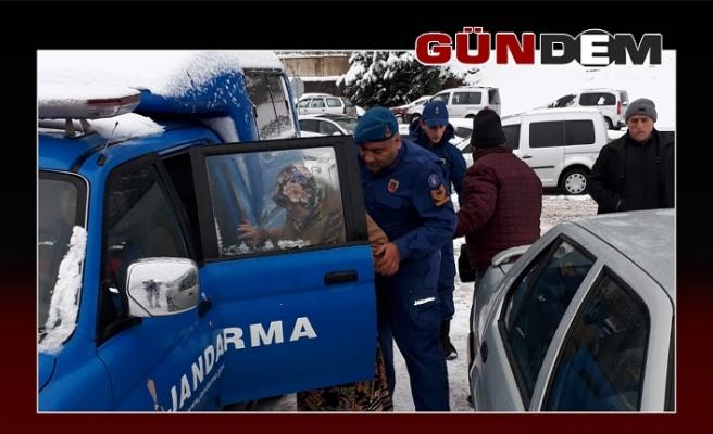 Jandarmadan vatandaşa yardım!..