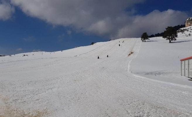 Karabük kayak merkezine kavuşuyor
