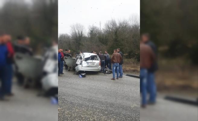 Karabük'te trafik kazası: 1 ölü, 4 yaralı