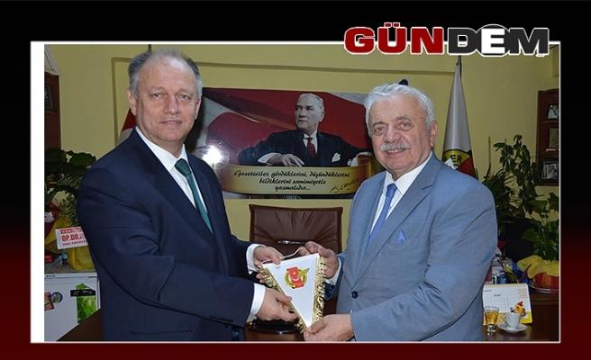 Kaymakam Çorumluoğlu, gazetecilerle buluştu
