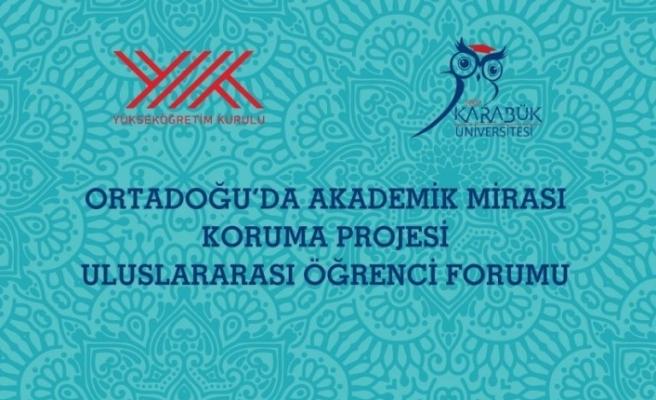 KBÜ'de 'Uluslararasılaşma ve Mülteci Öğrenciler' forumu