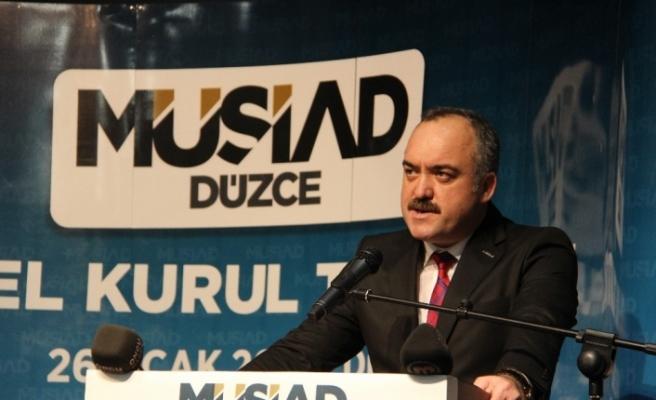 MÜSİAD'da Vefa Pehlivan yeniden başkan seçildi