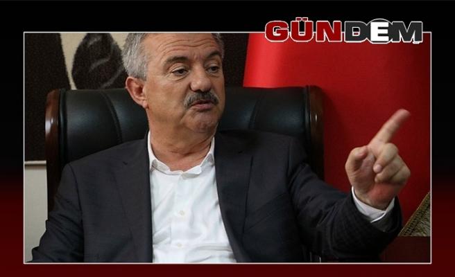 Polat Türkmen Cumhurbaşkanı Erdoğan'a Başsağlığı diledi