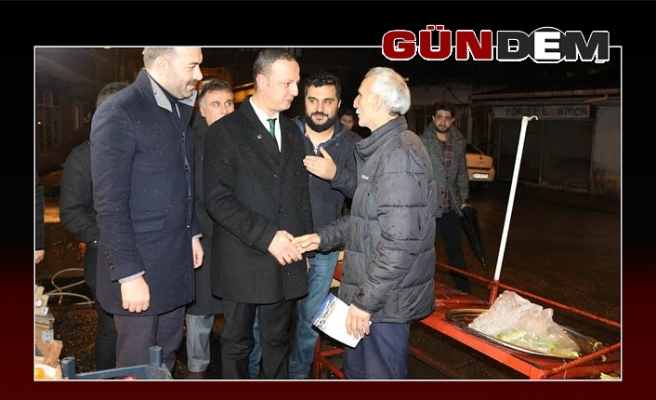 Selim Alan'a muhteşem karşılama