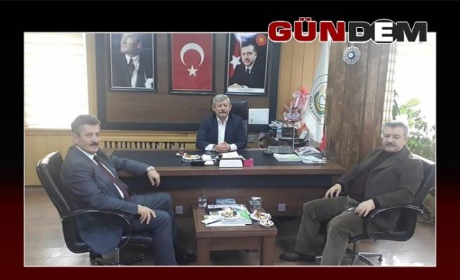 Türkmen ve Tosun'dan Gökçebey ziyareti