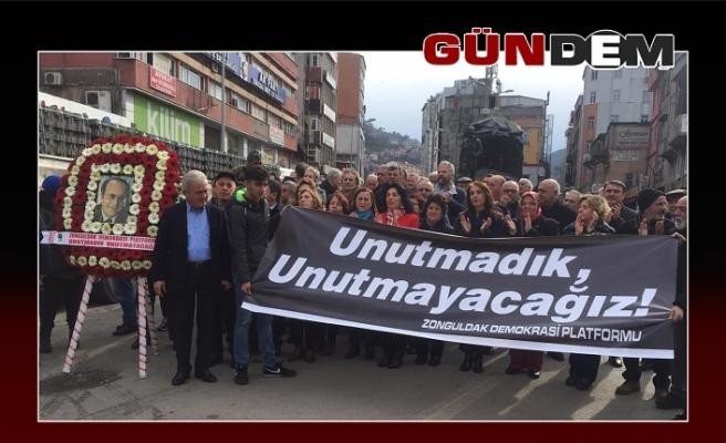 Uğur Mumcu, Zonguldak'ta Törenle Anıldı