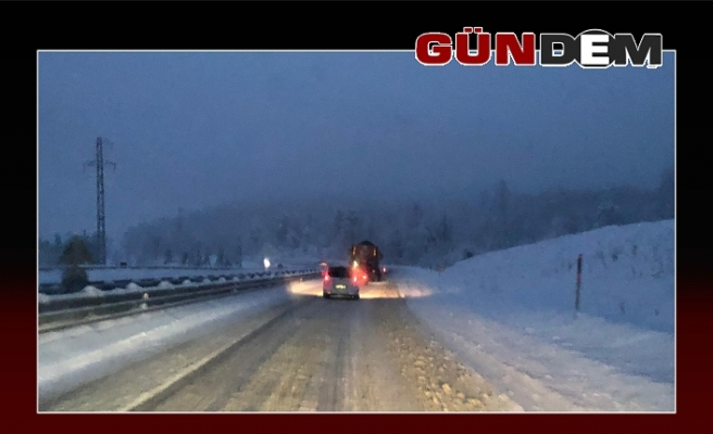Zonguldak-Ereğli yolu kara teslim oldu