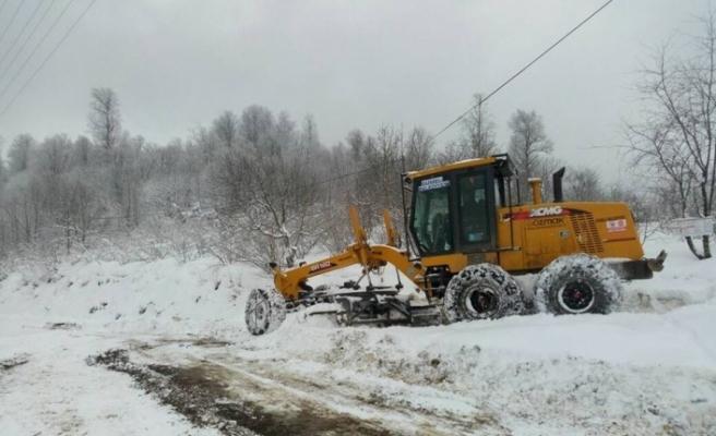Zonguldak'ta 80 köye ulaşım sağlanamıyor
