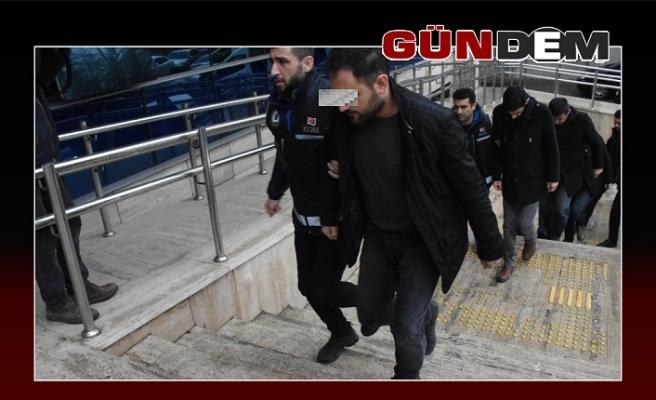 6 şüpheliden 5'i tutuklandı!..
