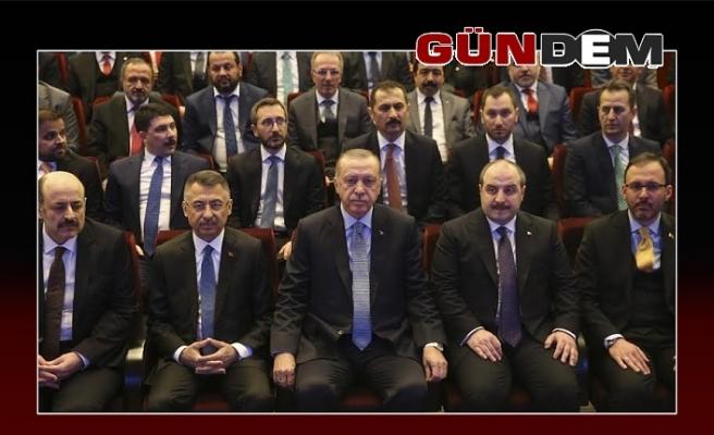 Açılışı Cumhurbaşkanı yaptı, Rektör Çufalı'da katıldı