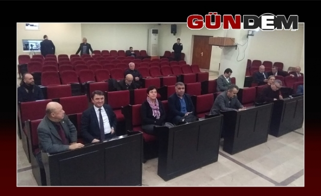 Belediye Meclisinde oy birliği yapıldı!