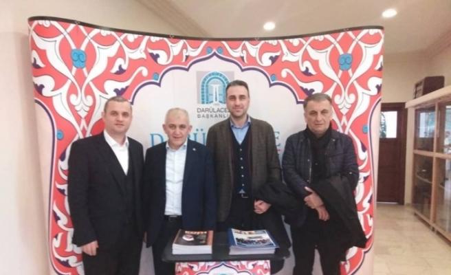 DTSO Başkanı Şahin, Darülaceze'de Düzce'yi tanıttı
