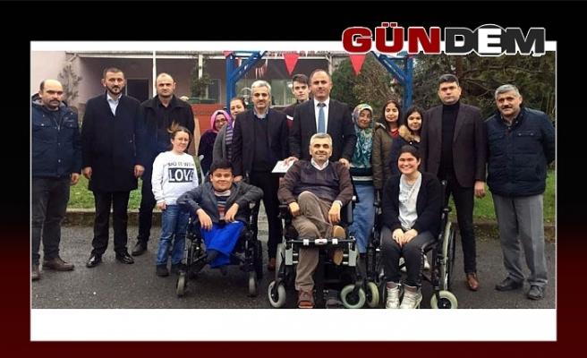 GMİS Engelliler Derneğini ziyaret etti