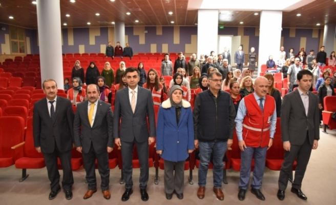 'Kızılay'ın Dost Eli, İyiliğe Mülteci' projesinin bilgilendirme toplantısı yapıldı