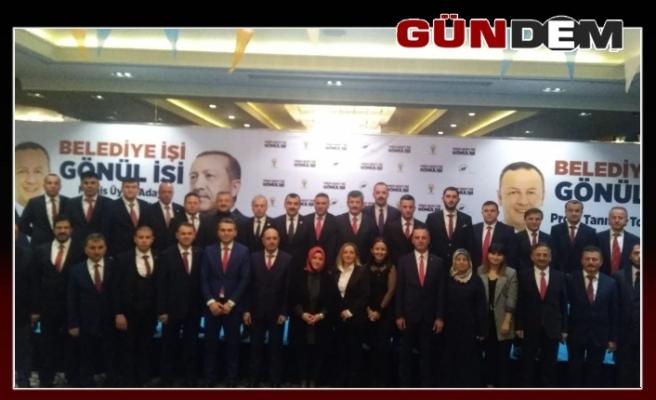 Ömer Selim Alan projelerini açıkladı, meclis üyelerini tanıttı