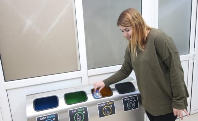 Safranbolu'da kamu kurumlarındaki çöp kovaları kaldırılıyor