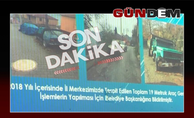 Turanlı'dan metruk araç paylaşımı