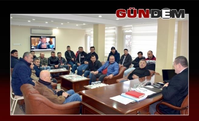 Ustaoğlu'ndan Başkan Tekin'e tam destek