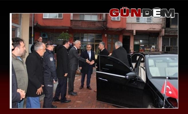 Vali Bektaş, Gelik Belediyesini inceledi!..