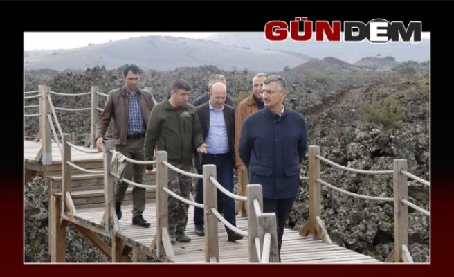 Vali Bektaş Başkanlığında gittiler