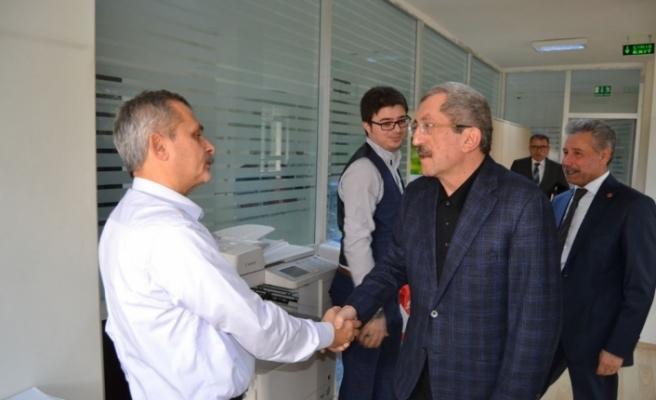 Vergili Aile ve Sosyal Politikalar İl Müdürü Galip Sökmen ile bir araya geldi