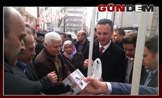 AK Parti'den kandil simidi