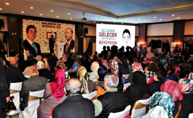 AK Partili aday Ali Kaya'nın proje tanıtımına yoğun ilgi