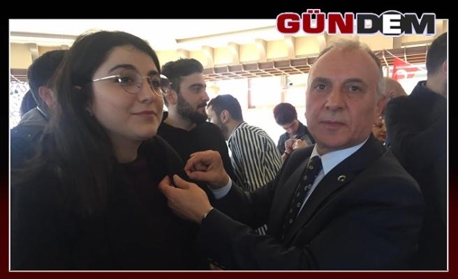 CHP'ye yüz üniversiteli genç katıldı