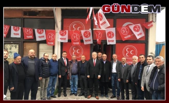 Demirtürk'ten Kandilli çıkarması
