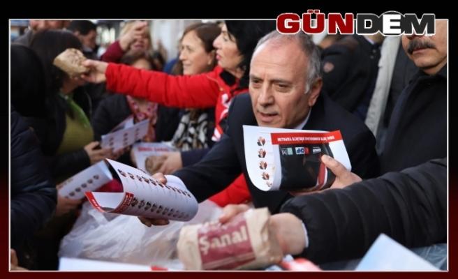Gazipaşa'da Şenol Şanal izdihamı...