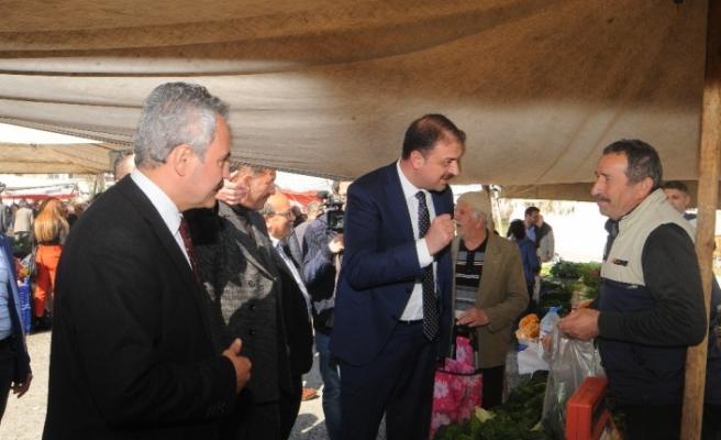 Gençlik ve Spor Bakan Yardımcısı Sinan Aksu Karabük'te destek istedi