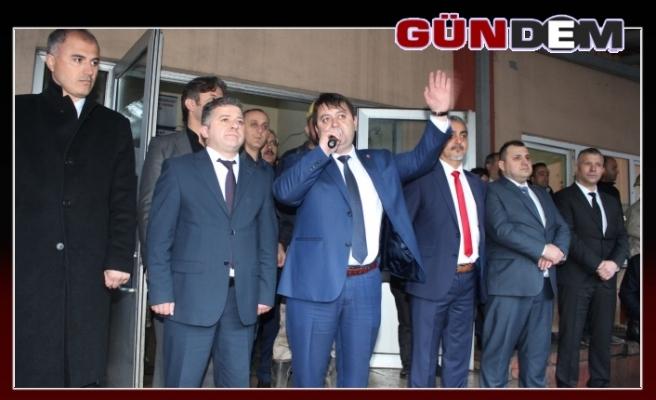 GMİS Yönetim Kurulu, Gelik'te madenciyi ziyaret etti