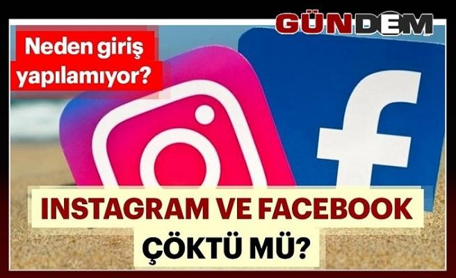 Instagram ve Facebook'ta erişim sorununa Bakan'dan açıklama!