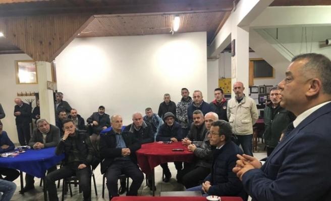 MHP'li başkan adayı gece gündüz çalışıyor