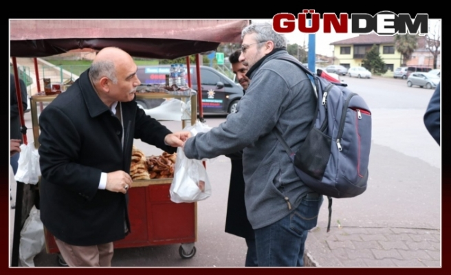 Şahin Erdemir emekçilerine 'Hayırlı Olsun'a gitti