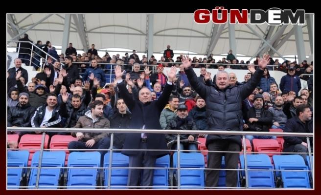 Şanal'dan Kömürspor'a destek