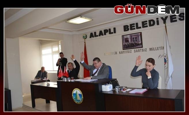 Tekin ,son Belediye Meclis toplantısına başkanlık yaptı